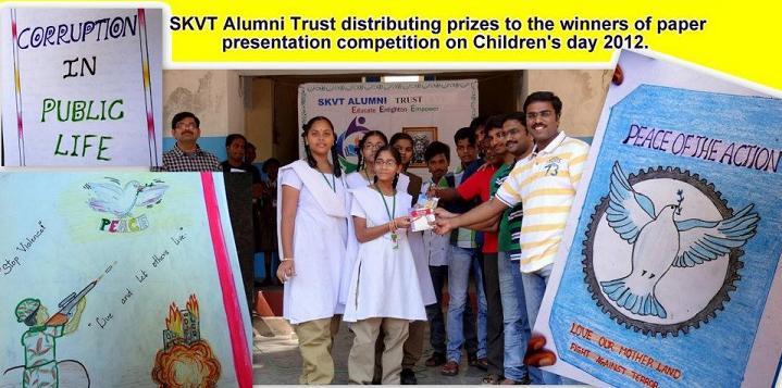 events skvt alumni rajahmundry paper presentation competition 2012
